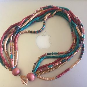 Jewelry - 💙 Bohemian style beaded necklace